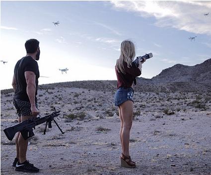 Shooting Drones