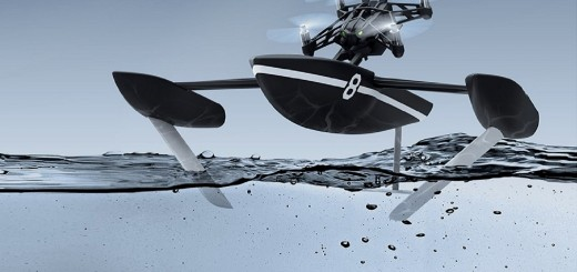Parrot Minidrone Hydrofoil Feature